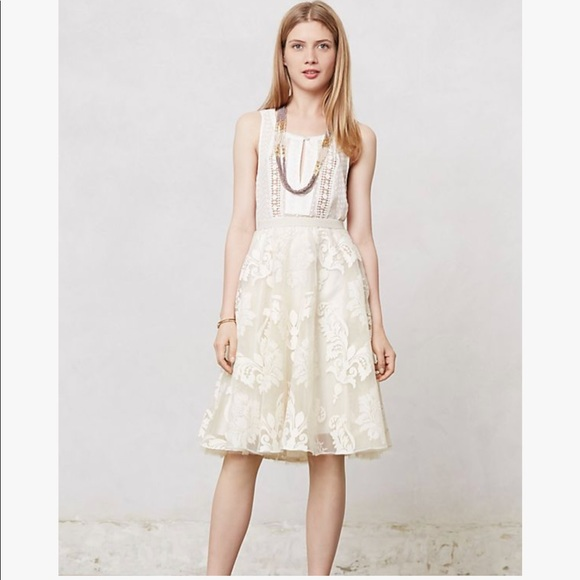 a64886b04 Anthropologie Skirts | Yoana Baraschi Anthro Emeline Tulle Skirt ...